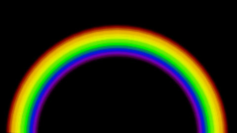 rainbow.dizziness,fairy... Stock Video Footage
