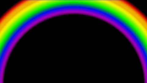 rainbow.dizziness,fairy... Stock Video Footage