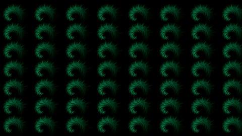 green rotation smoke... Stock Video Footage