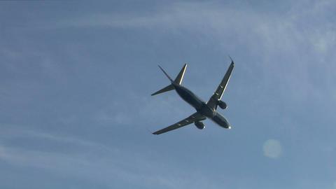 airplane ryanair 03 Stock Video Footage