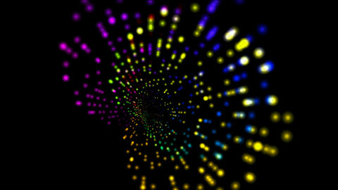 abstract rotation color ray light,web tech background Stock Video Footage