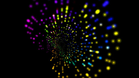 abstract rotation color ray light,web tech background Animation