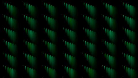 green rotation smoke pattern Stock Video Footage