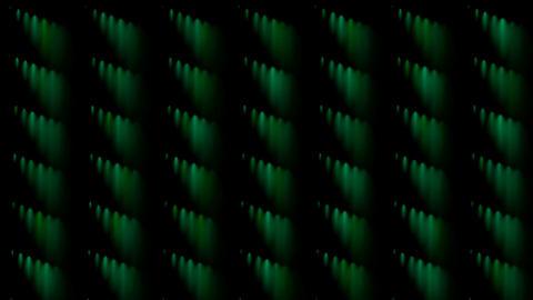 green rotation smoke pattern Animation