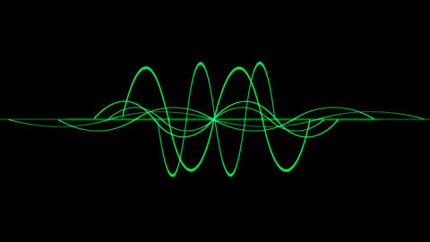green lines wave,seamless loop.rope,vision,idea,creativity,beautiful,disorder,ECG,EEG,medical,freque Animation