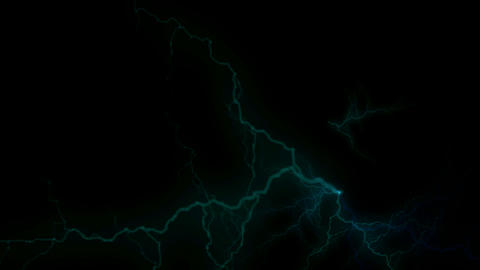 blue lightning,energy magnetic field Stock Video Footage