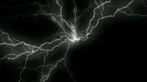 lightning.background,symbol,dream,vision,idea,creativity,... Stock Video Footage