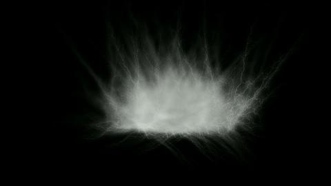white smoke... Stock Video Footage