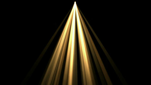gold rays light,flare sunlight Stock Video Footage