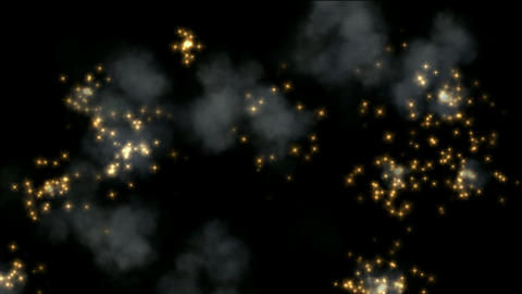 golden Fireworks and smoke,seamless,Smelting,metallurgy,steel,loop,arms,war,signal flare,signal,fest Animation