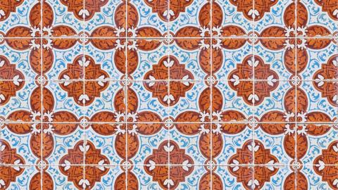 Seamless tile pattern Animation