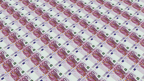 500 euro bills,Printing Money Animation Animation