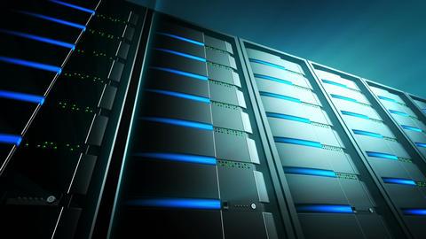 Servers Background 2 (Loop) Stock Video Footage