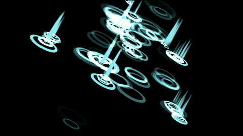 water ripple and blue light.Game,Led,modern,stylish,dizziness,romance,romantic,gas,lighter,stage,dan Animation