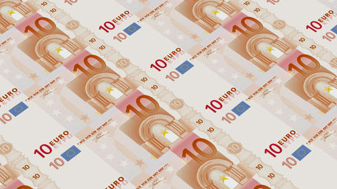 10 euro bills,Printing Money Animation Animation