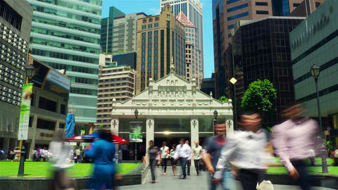 City street timelapse in motion Stock Video Footage