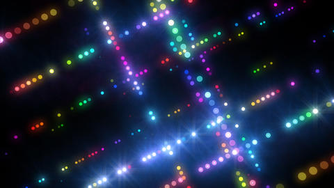 Neon LED Dot9 A4a HD Animation