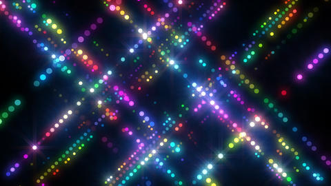 Neon LED Dot9 A4c HD Animation