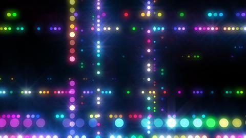 Neon LED Dot9 A4e HD Stock Video Footage
