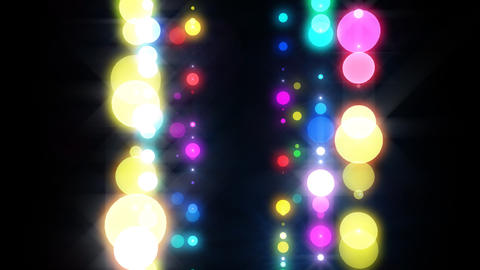 Neon LED Dot9 A4g HD Stock Video Footage