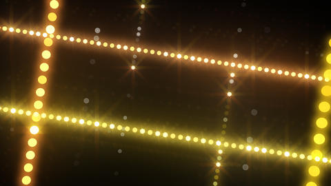 Neon LED Dot9 B3a HD Stock Video Footage