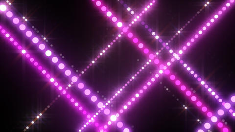 Neon LED Dot9 B3c HD Stock Video Footage