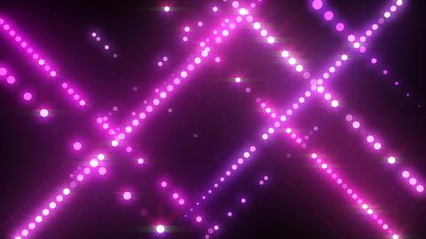 Neon LED Dot9 B4c HD Stock Video Footage