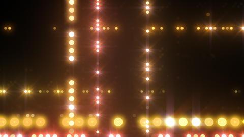 Neon LED Dot9 B4e HD Stock Video Footage