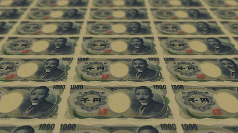 1000 japan yen,Printing Money Animation Animation