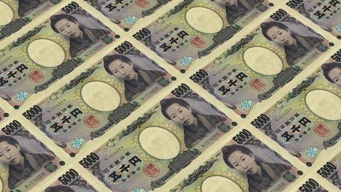 5000 japanese yen,Printing Money Animation Animation