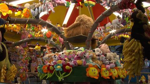amusement park 01 Stock Video Footage