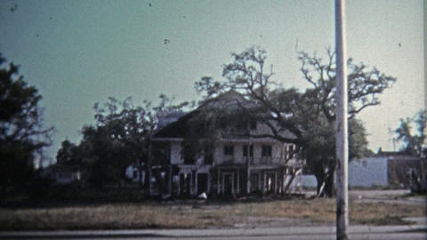 1971: Neglected historic mansions littered near downtown plagued the city Live Action