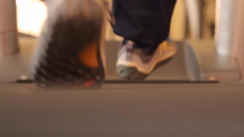 treadmill cardio workout Footage