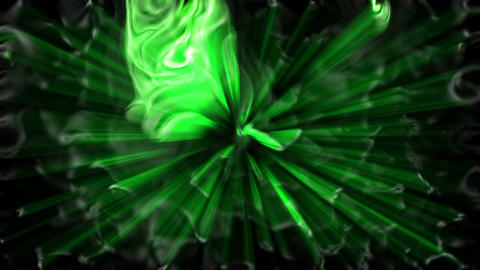 Green fancy material Animation