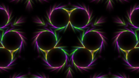 Colorful mirrored abstract Animation