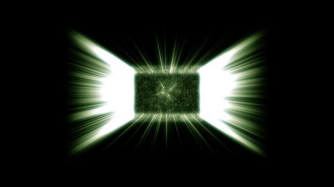 Green fancy effects Animation