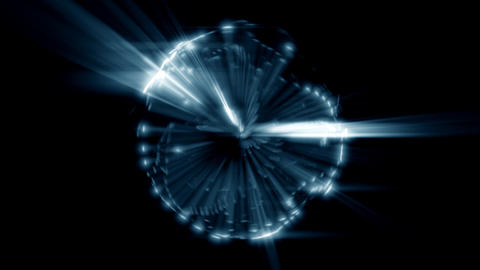Spherical bright abstract Animation