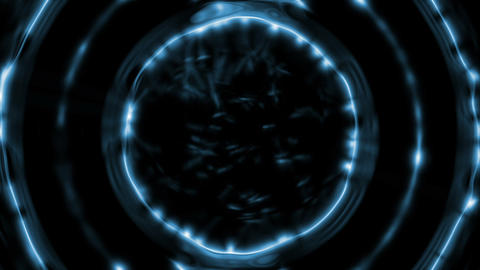 Blue rotating disk Animation