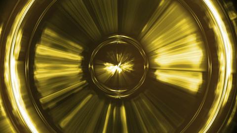Yellow speaker's vibrations Animation