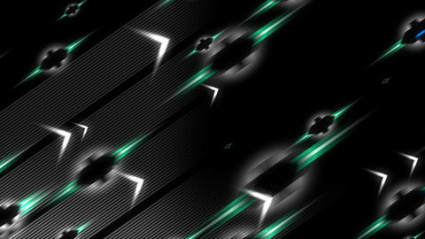 abstract background animation, flying arrow Animation