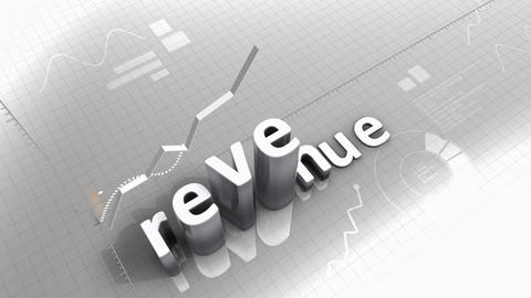 chart, statistic, Revenue, performance, growing, data Animation