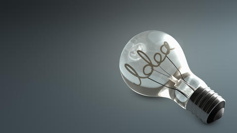 bulb, electric, energy, idea, power, technology Animation