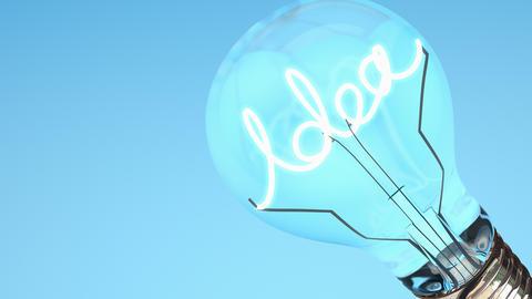 Bulb, Electric, Energy, Idea, Power, Technology stock footage