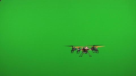 Drone green screen ビデオ