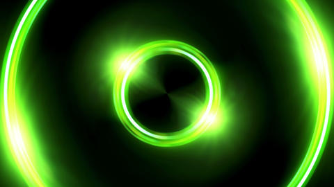 color lens ring flares double circle Animation