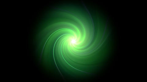 twirl green flare expose isolate Animation