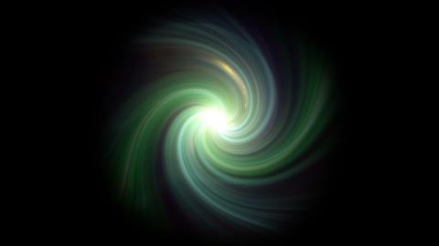 twirl green flare isolate Animation