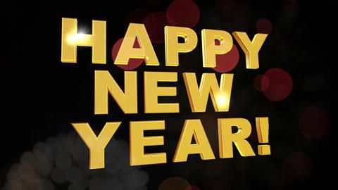 new year firework Animation