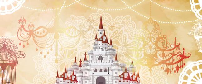castle loop Animation