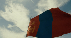 Naadam National Holiday Of Mongolia - A Report From The Wrestling 08.07.2015 Mor stock footage